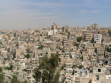 "I visited my Uncle Curt and Aunt Harriet years ago when he was based in Amman for Boeing Aircraft.  I asked my aunt what her most lasting memory of Amman would.  She answered, ""Beige."""