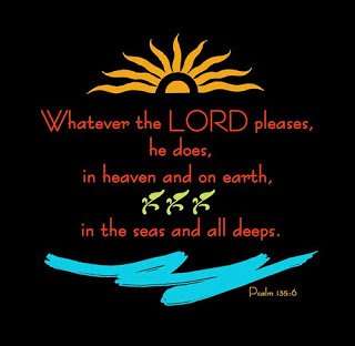 P135 whatever the Lord