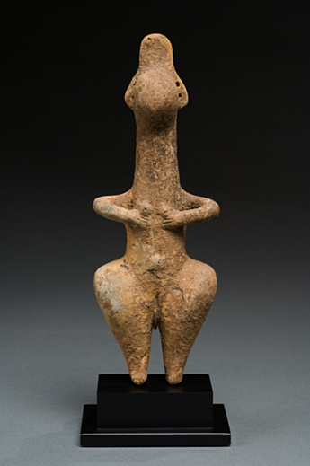 Idol Ancient Near East 1st millennium B.C. Terracotta