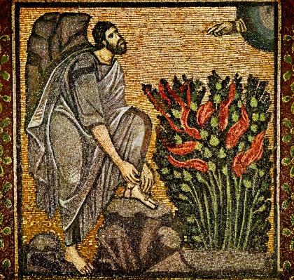 Ex4 moses_burning_bush_bysantine_mosaic