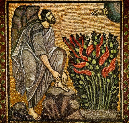 Ex4 moses_burning_bush_bysantine_mosaic