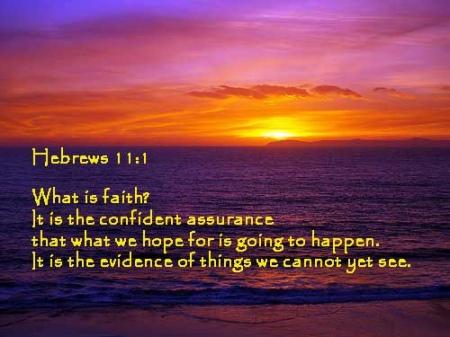 Heb11 verse 1