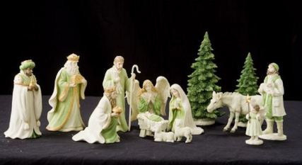 Ps98 nativity set