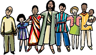 1J2 brothers_sisters_in_christ_color