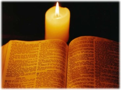 2Cor11 Bible_and_candle