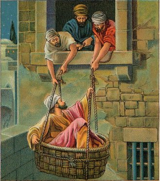 2Cor11 Paul basket