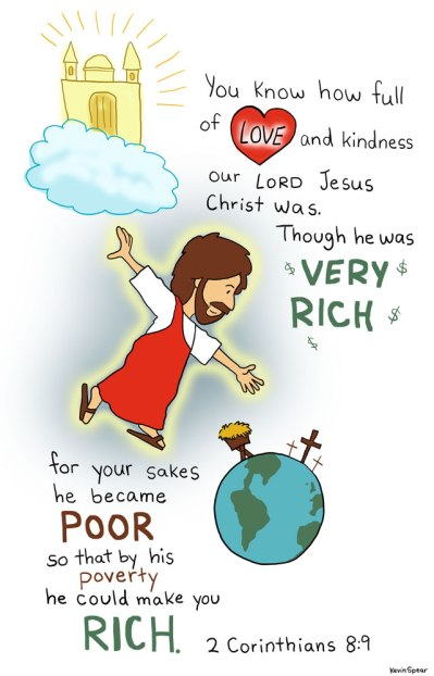 2Cor8 cartoon verse
