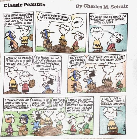 Job5 Peanuts cartoon
