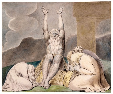 """Job's Despair,""  by William Blake."