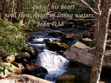John7 mountain stream