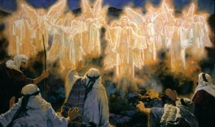 """""""Glory to God in the highest!"""" -- the most famous song of the night!"""