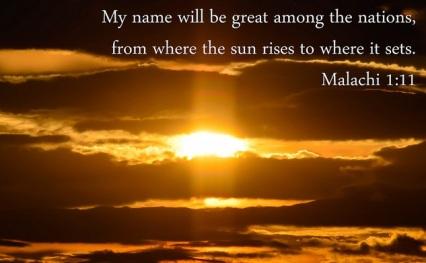Mala1 sunrise