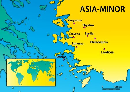 Asia Minor is a geographic region in the south-western part of Asia comprising most of what is present-day Turkey.