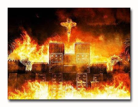 Rev18 city burning