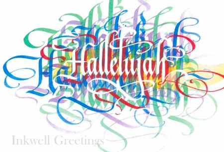 calligraphy by Timothy Botts