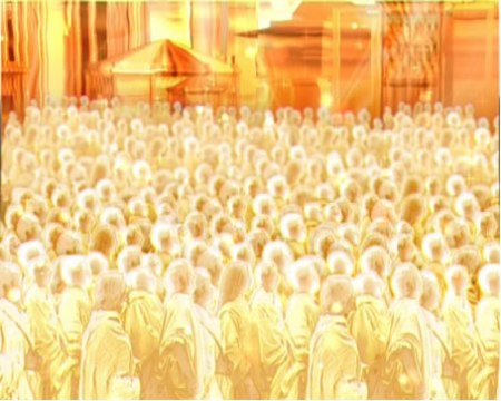 """""""Who are these, robed in white, and where have they come from?"""""""