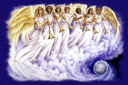 """""""Seven Angels, Seven Trumpets"""" by Pat Marvenko Smith"""