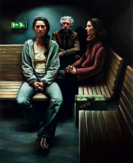 """Lot and his daughters""  by Rogier Willems, 2005."