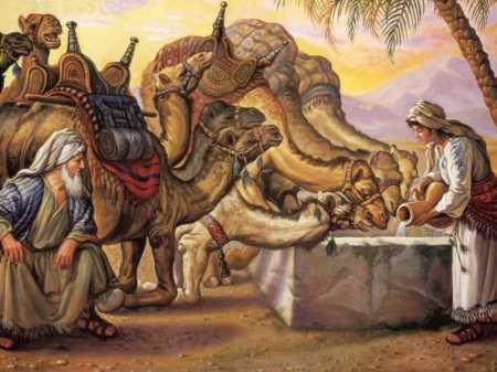 Gen24 Rebekah camels