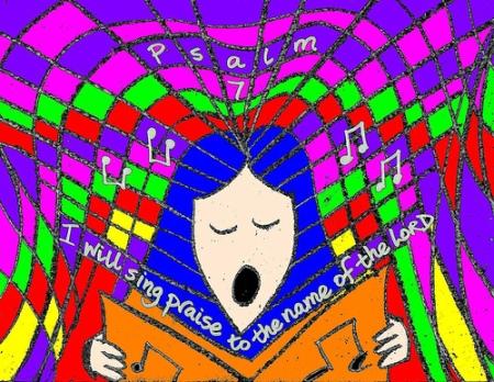 P7 sing praise