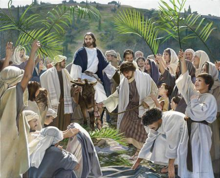 """Triumphal Entry""  by Liz Lemon Swindle"