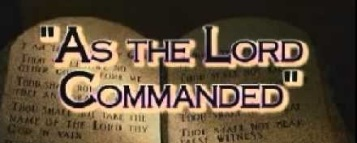 Lev8 as the Lord commanded