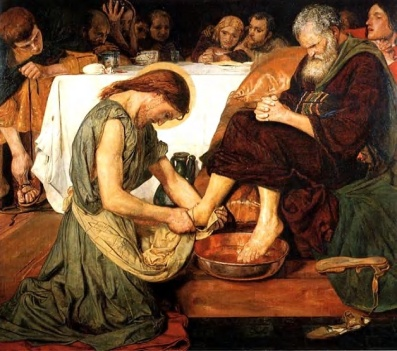1Pet5 Jesus-washing-feet-