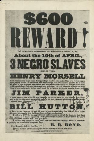 Despite the rewards offered, many people followed their faith and risked their lives to help slaves get to freedom.