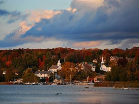 Ephraim, Wisconsin, is located in beautiful Door County.
