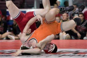 Jude wrestling