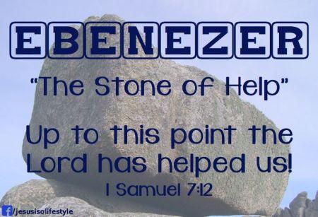 1Sam7 Ebenezer