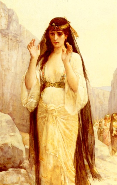 """The Daughter of Jephthah"" by Alexandre Cabanel, 1879."