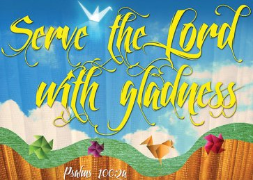 2Sam15 Serve the Lord