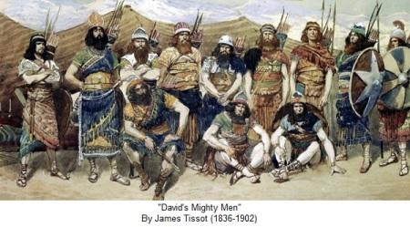 2Sam23 mighty men