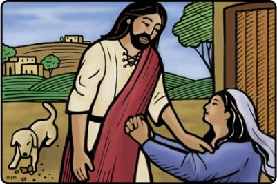 David Canaanite woman