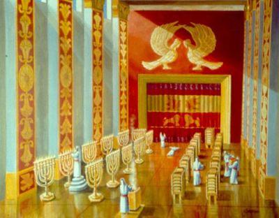 1K6 Temple interior