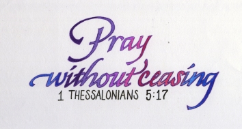 2Chron6 Pray without ceasing