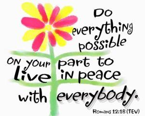 Rom12 peace