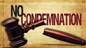 Rom8 no condemnation