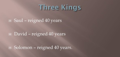 1K11 3 kings
