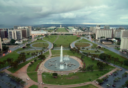 """I remember reading about the building of Brazil's new planned capital city, Brasilia, in our """"Weekly Reader"""" pamphlets in elementary school."""