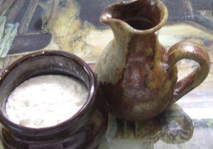 1K17 oil-and-flour