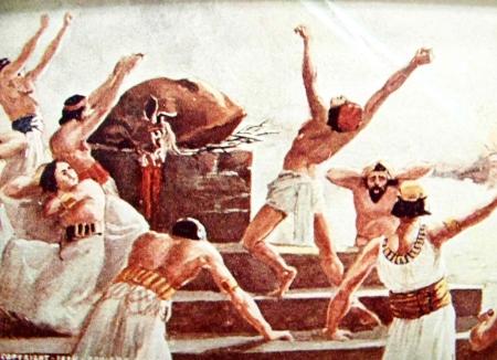 1K18 prophets of Baal