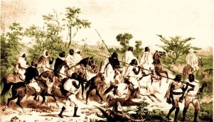 Ethiopian warriors