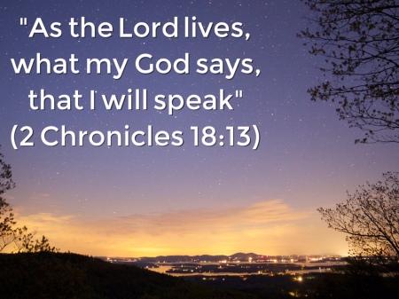 2Chr18 speak