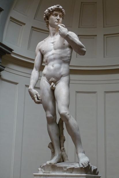 """Michelangelo's """"David."""""""