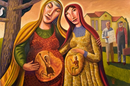 """The Visitation"" by James B. Janknegt, 2008."