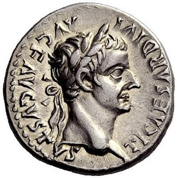 The denarius, a small silver Roman coin, was the usual wage for one day's work.