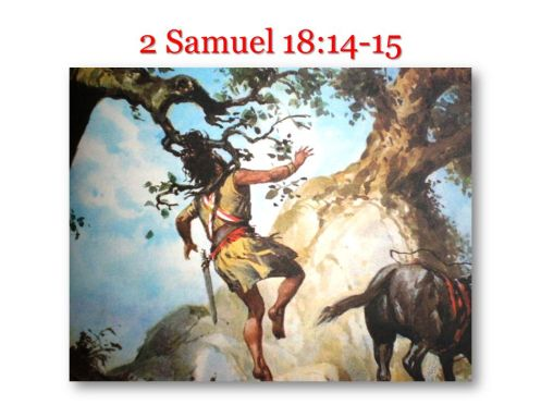 2 Samuel 18:14-15